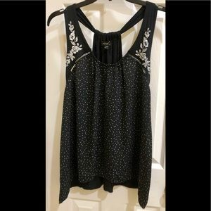 ⭐️NWT⭐️ AWESOME Polka Dot & Floral Designs Tank